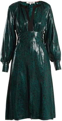 Diane von Furstenberg Paisley-print silk-blend dress