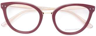 Bottega Veneta cat-eye shaped glasses