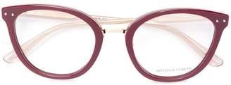 Bottega Veneta cat-eye shaped glasses
