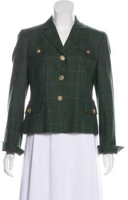 Akris Punto Wool Button-Up Blazer