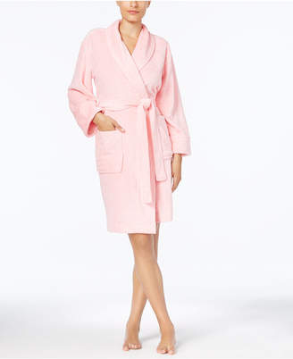 Charter Club Short Heather Wrap Robe, Created for Macy's