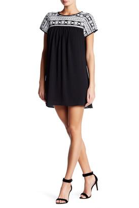 Trixxi Embroidery Sheath Dress $59 thestylecure.com
