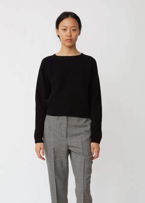 Margaret Howell Ribbed Wool Crewneck Sweater