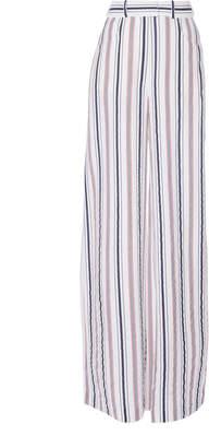 Martin Grant Striped Wide-Leg Trousers