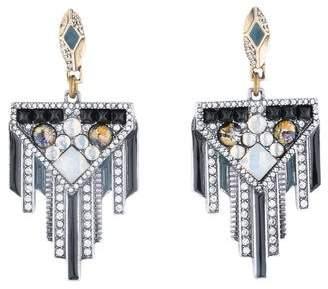 Lulu Frost Crystal Drop Earrings