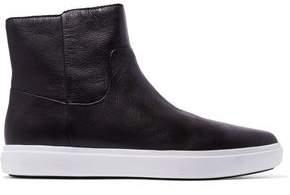 DKNY Tyler Leather Slip-On Sneakers