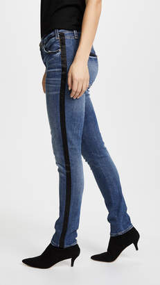 McGuire Denim Vintage Slim Jeans with Tuxedo Stripe