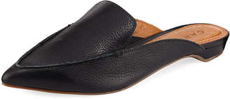 Milly Carrano Pebbled Mule Flat
