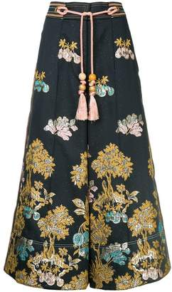 Peter Pilotto cropped high waisted trousers