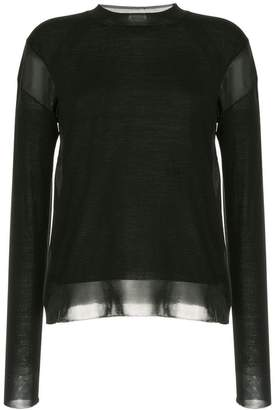 Sonia Rykiel long sleeved blouse