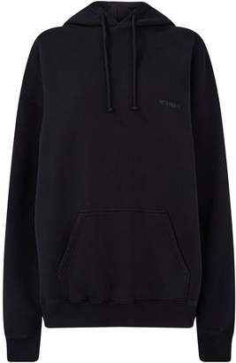 Vetements Cotton Elbow-Holes Hoodie
