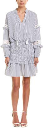 Central Park West Parrot Bay Drop-Waist Dress