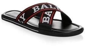 Bally Bonk Logo Sandal