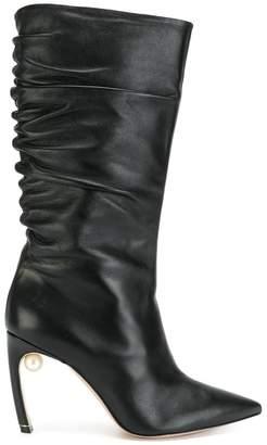 Nicholas Kirkwood Mira Pearl boots