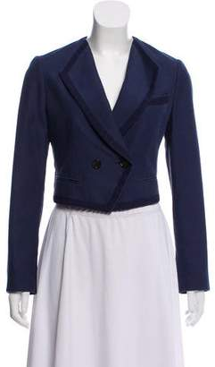 3.1 Phillip Lim Crop Shawl Lapel Blazer