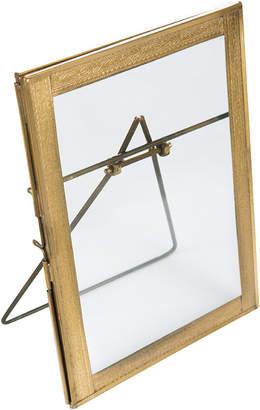 "Nkuku Azizi Standing Antique Brass Frame - 5x7"""