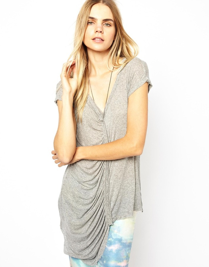 Twisted Muse Richie Draped Top