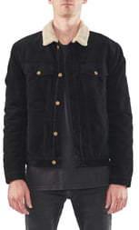 ROLLA'S Morrison Faux Shearling Collar Corduroy Jacket