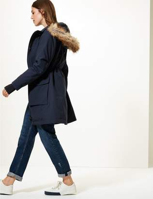 Marks and Spencer Padded Goose Down & Feather Parka