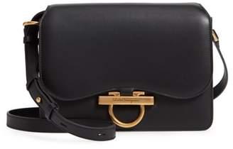 Salvatore Ferragamo Medium Classic Flap Leather Shoulder Bag
