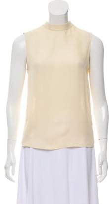 Vince Silk Mock Neck Blouse w/ Tags