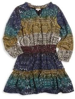 Ella Moss Girl's Chiffon Printed Dress
