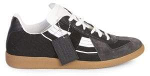 Maison Margiela Replica Sock Leather Low-Top Sneakers