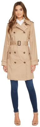 LAUREN Ralph Lauren - Double-Breasted Trench Women's Coat $200 thestylecure.com