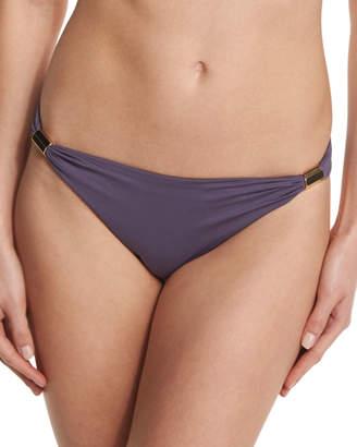 Neiman Marcus Lazul Maia Solid Swim Bikini Bottom