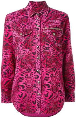 Philipp Plein printed shirt