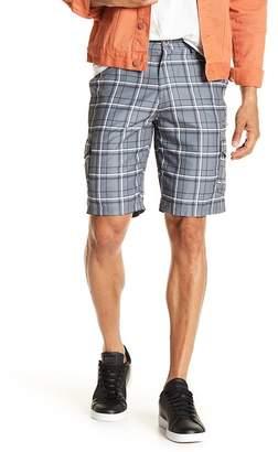 Burnside Plaid Woven Shorts