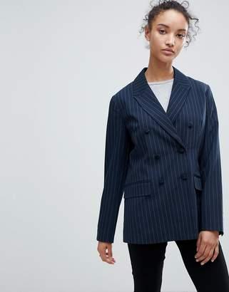 B.young Pin Stripe Blazer