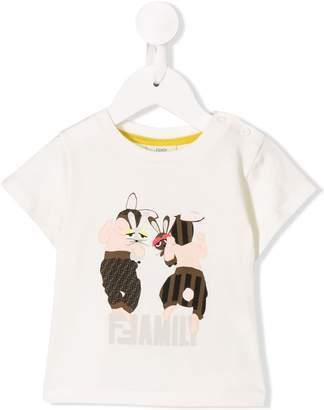 Fendi FFamily print T-shirt