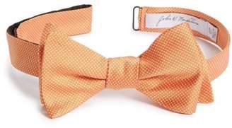 John W. Nordstrom R) Dot Silk Bow Tie