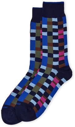 Duchamp Multi Block Crew Socks