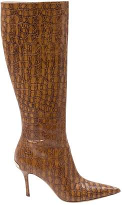 Alessandro Dell'Acqua Camel Leather Boots