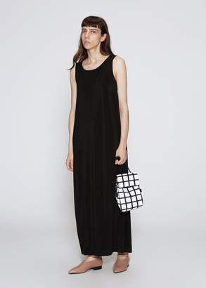 Issey Miyake Drape Jersey Long Dress