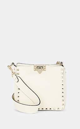 b14340c1f Valentino Women's Rockstud Mini Leather Crossbody Bag - Cream