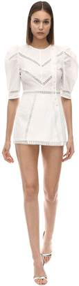 Alice McCall A Foreign Affair Cotton & Lace Romper