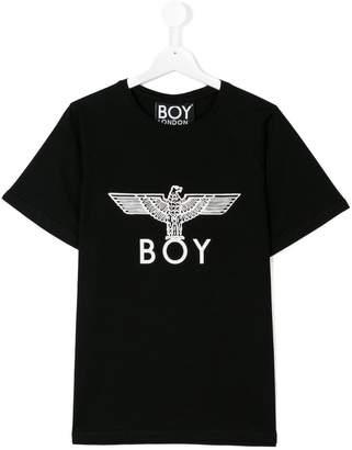 Boy London Kids central logo T-shirt