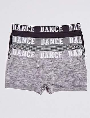 Marks and Spencer 3 Pack Dance Shorts (6-16 Years)