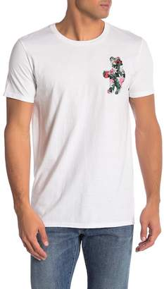 Riot Society Floral Bear Graphic Tee