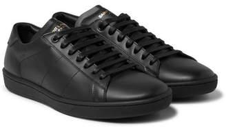 Saint Laurent Sl/01 Court Classic Leather Sneakers