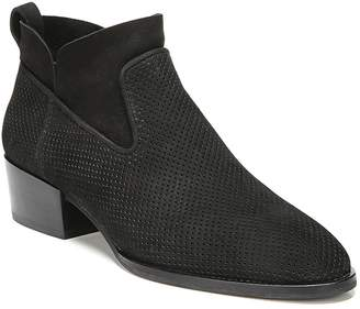 Via Spiga Tricia Perforated Block Heel Booties