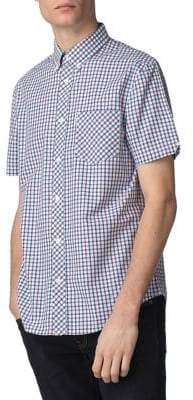 e9bc787671 at The Bay · Ben Sherman Core Short-Sleeve House Checkered Cotton Sport  Shirt