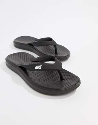 Nike Solay Thongs In Black 882690-005