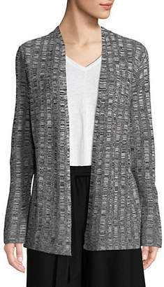 Eileen Fisher Silk-Linen Blend Cardigan