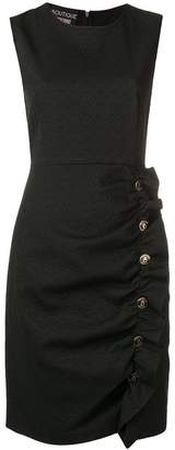 Moschino logo button dress