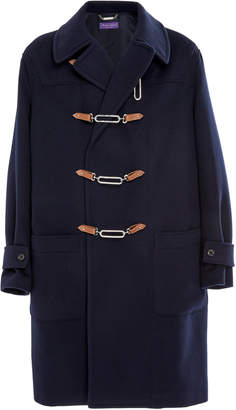 Ralph Lauren Fintona Wool-Melton Toggle Coat