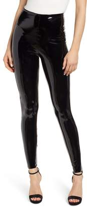 Commando Control Top Faux Patent Leather Leggings